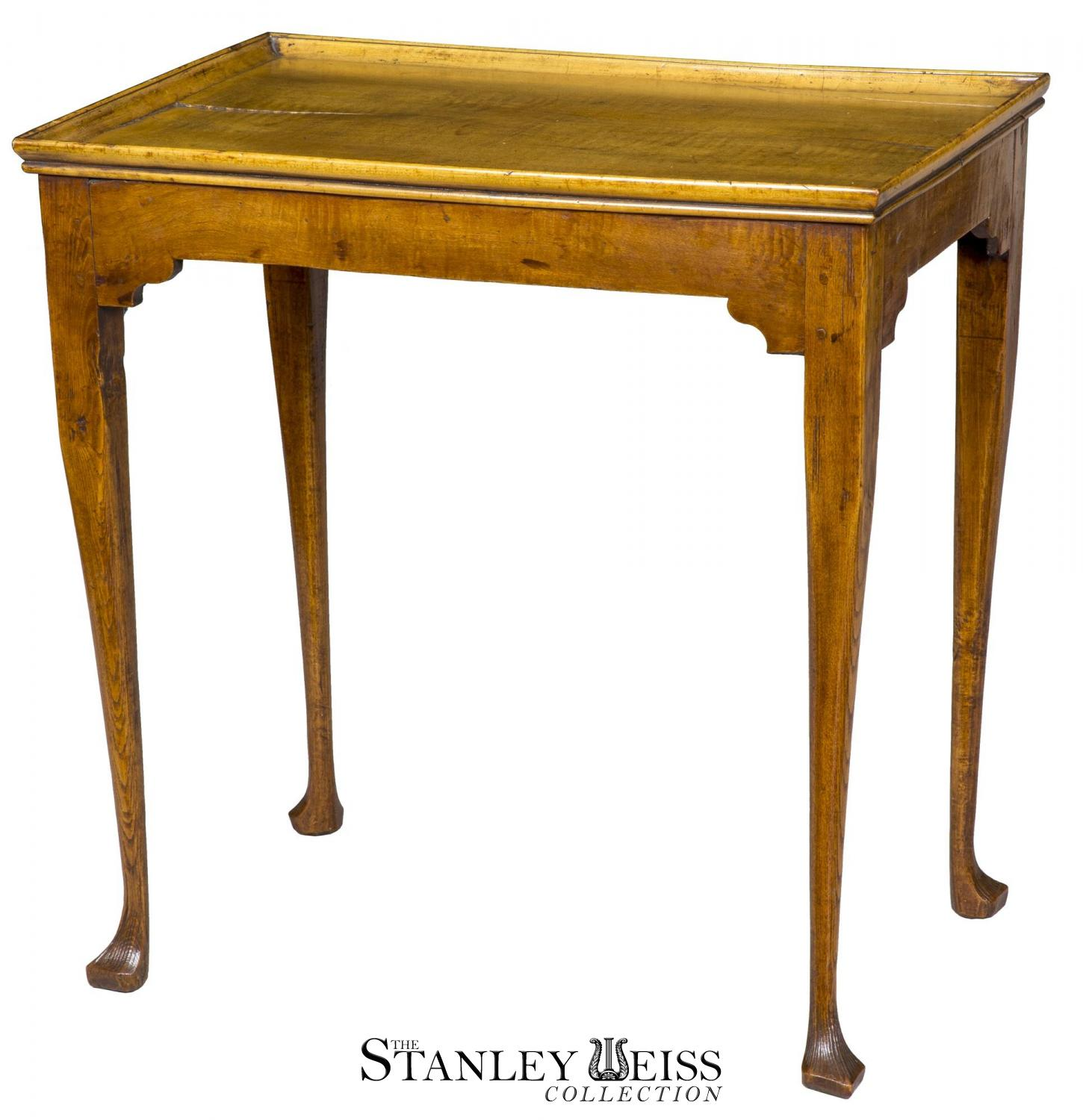An Early Queen Anne Tray Top Tea Table, England or America