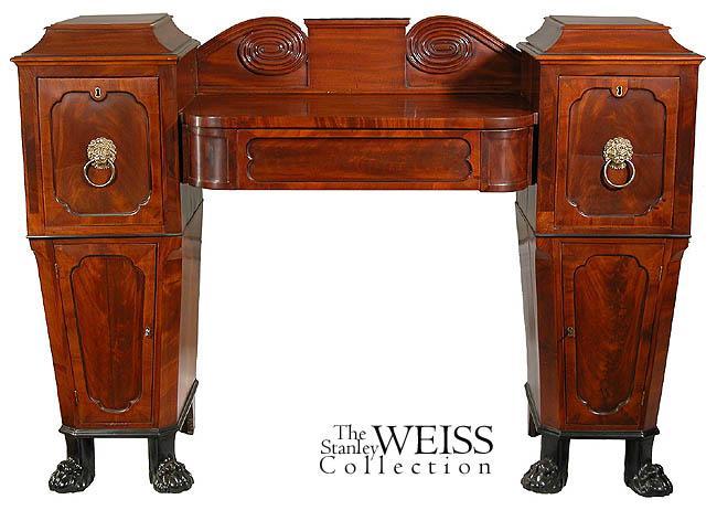 swc a small regency mahogany sideboard england ebay. Black Bedroom Furniture Sets. Home Design Ideas