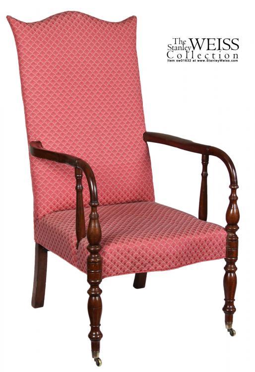 Swc Mahogany Lolling Chair Portsmouth Nh Ebay